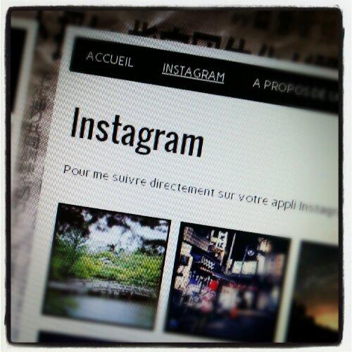Instagram !