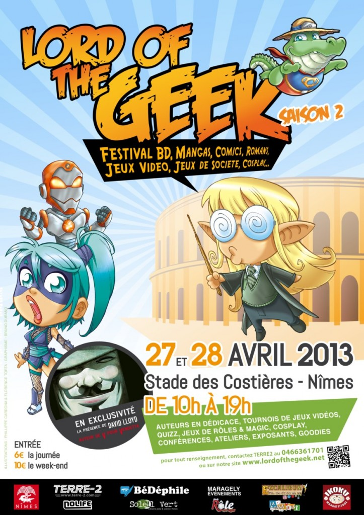 Lord of the Geeks 2013