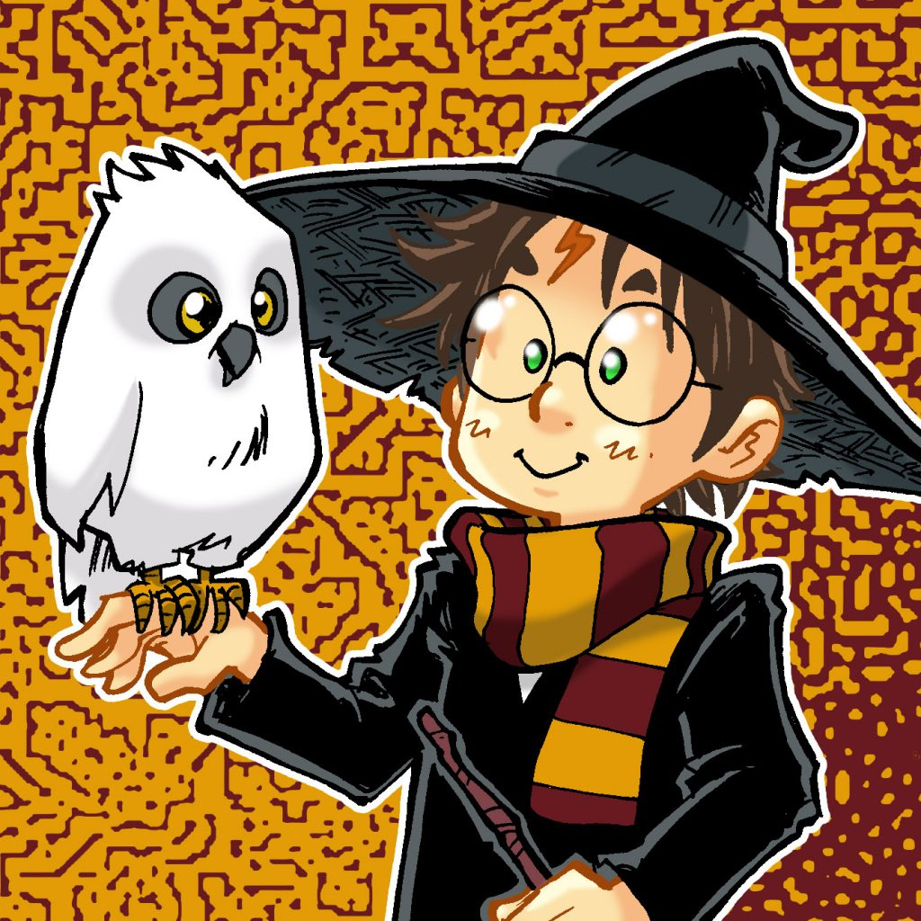 Harry Potter & Hedwige